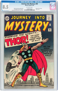 Journey Into Mystery #89 (Marvel, 1963) CGC VF+ 8.5 Off-white pages