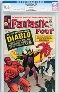 Fantastic Four #30 (Marvel, 1964) CGC NM+ 9.6 White pages