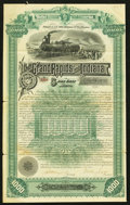 Miscellaneous:Other, Grand Rapids and Indiana Railroad Company $1000 5 Per Cent BondSep. 1, 1884.. ...