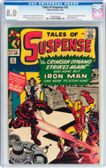 Silver Age (1956-1969):Superhero, Tales of Suspense #52 (Marvel, 1964) CGC VF 8.0 Off-white to white pages....