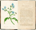 Books:Natural History Books & Prints, Robert Hogg and George W. Johnson. The Wild Flowers of Great Britain. With original plates drawn and colored by Char... (Total: 2 Items)