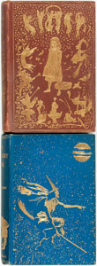 Books:Literature 1900-up, Andrew Lang. The Brown Fairy Book [and:] The Blue FairyBook. Illustrated by H.J. Ford. London: Longmans, Gr... (Total:2 Items)