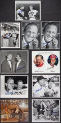 Autographs:Photos, Stan Musial Signed Photographs Lot Of 10(From The Stan MusialCollection)....