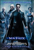 """Movie Posters:Science Fiction, The Matrix (Warner Brothers, 1999). One Sheet (27"""" X 40"""") DS.Science Fiction.. ..."""