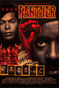 """Panther & Other Lot (Polygram, 1995). One Sheets (2) (27"""" X 40"""") DS Regular & Advance. Black Films..."""