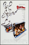 "Movie Posters:Animation, Who Framed Roger Rabbit & Other Lot (Buena Vista, 1988). One Sheet (27"" X 41"") & Mini Poster (17.5"" X 27""). Animation.. ... (Total: 2 Items)"