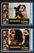 "Movie Posters:Rock and Roll, Let It Be (United Artists, 1970). CGC Graded Lobby Cards (2) (11"" X14""). Rock and Roll.. ... (Total: 2 Items)"
