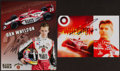 Autographs:Others, Dan Wheldon Signed Photograph Lot Of 2....