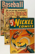 Golden Age (1938-1955):Miscellaneous, Comic Books - Assorted Golden Age Comics Group (Various Publishers, 1940-55).... (Total: 9 Comic Books)