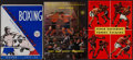 Boxing Collectibles:Memorabilia, 1933-57 Boxing Fight Programs Lot of 3....