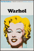"""Movie Posters:Miscellaneous, Marilyn Monroe by Andy Warhol (Tate Gallery, 1971). Art Gallery Poster (20"""" X 30""""). Miscellaneous.. ..."""