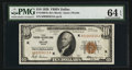 Small Size:Federal Reserve Bank Notes, Fr. 1860-K $10 1929 Federal Reserve Bank Note. PMG Choice Uncirculated 64 EPQ.. ...
