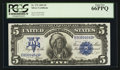 Large Size:Silver Certificates, Fr. 275 $5 1899 Silver Certificate PCGS Gem New 66PPQ.. ...