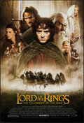 """Movie Posters:Fantasy, The Lord of the Rings: The Fellowship of the Ring (New Line, 2001). One Sheet (27"""" X 40"""") DS Advance Style D. Fantasy.. ..."""
