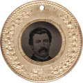 Political:Ferrotypes / Photo Badges (pre-1896), McClellan & McClellan (??): A Choice, Unlisted FerrotypeVariety. ...