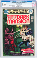 Bronze Age (1970-1979):Horror, Forbidden Tales of Dark Mansion #6 (DC, 1972) CGC NM+ 9.6 Off-whiteto white pages....