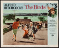 """Movie Posters:Hitchcock, The Birds (Universal, 1963). Trimmed Lobby Card (11"""" X 13.5"""").Hitchcock.. ..."""