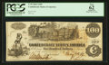 Confederate Notes:1862 Issues, T39 $100 1862 PF- 2 Cr. UNL.. ...