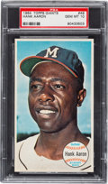 Baseball Cards:Singles (1960-1969), 1964 Topps Giants Hank Aaron #49 PSA Gem Mint 10....