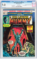 Bronze Age (1970-1979):Horror, Supernatural Thrillers #7 The Living Mummy - Don/Maggie ThompsonCollection pedigree (Marvel, 1974) CGC NM/MT 9.8 White pages....