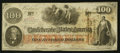 Confederate Notes:1862 Issues, T41 $100 1862 PF-62 Cr. UNL.. ...