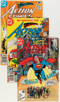 Modern Age (1980-Present):Superhero, Action Comics #484-583 Group (DC, 1978-86) Condition: AverageVF/NM.... (Total: 100 Comic Books)
