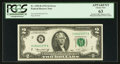 Error Notes:Mismatched Prefix Letters, Fr. 1935-B $2 1976 Federal Reserve Note. PCGS Apparent Choice New63.. ...