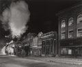 Photographs:Gelatin Silver, O. WINSTON LINK (American, 1914-2001). Main Line on Main Street,Norfolk, West Virginia, 1958. Gelatin silver, printed A...