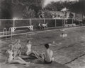 Photographs:Gelatin Silver, O. WINSTON LINK (American, 1914-2001). Swimming Pool at Welch,West Virginia, 1958. Gelatin silver, printed August, 1988...