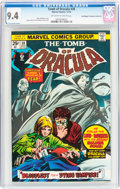 Bronze Age (1970-1979):Horror, Tomb of Dracula #38 Don/Maggie Thompson Collection pedigree(Marvel, 1975) CGC NM 9.4 Off-white to white pages....