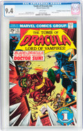 Bronze Age (1970-1979):Horror, Tomb of Dracula #42 Don/Maggie Thompson Collection pedigree(Marvel, 1976) CGC NM 9.4 White pages....