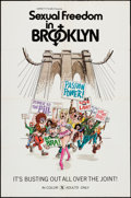"Movie Posters:Adult, Sexual Freedom in Brooklyn & Others Lot (Variety Films, 1971). One Sheets (57) (27"" X 41"" & 28"" X 42"") Regular, Flat Folded,... (Total: 57 Items)"
