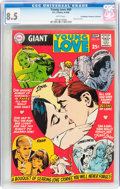 Silver Age (1956-1969):Romance, Young Love #69 Don/Maggie Thompson Collection pedigree (DC, 1968)CGC VF+ 8.5 White pages....
