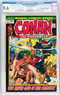 Bronze Age (1970-1979):Adventure, Conan the Barbarian #17 Don/Maggie Thompson Collection pedigree (Marvel, 1972) CGC NM+ 9.6 White pages....
