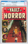 Golden Age (1938-1955):Horror, Vault of Horror #33 (EC, 1953) CGC VF/NM 9.0 Off-white to whitepages....