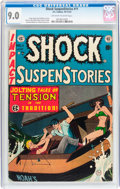 Golden Age (1938-1955):Horror, Shock SuspenStories #11 (EC, 1953) CGC VF/NM 9.0 Off-white to whitepages....
