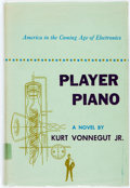 Books:Literature 1900-up, Kurt Vonnegut, Jr. Player Piano. New York: Scribner's, 1952.First edition. Publisher's green cloth and original dus...
