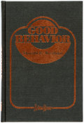 Books:Mystery & Detective Fiction, Donald Westlake. SIGNED/LIMITED. Good Behavior. New York: Mysterious Press [for Neiman-Marcus], [1985]. First editio...