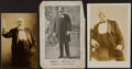 Boxing Cards:General, 19th/20th Century John L. Sullivan Photo Trio (3). ...