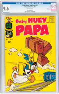 Silver Age (1956-1969):Humor, Baby Huey and Papa #2 File Copy (Harvey, 1962) CGC NM+ 9.6 Off-white pages....