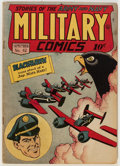 Golden Age (1938-1955):War, Military Comics #42 (Quality, 1945) Condition: FN+....
