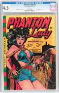 Golden Age (1938-1955):Superhero, Phantom Lady #17 (Fox Features Syndicate, 1948) CGC VG+ 4.5 Pinkpages....