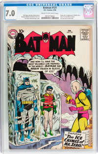 Batman #121 (DC, 1959) CGC FN/VF 7.0 Cream to off-white pages