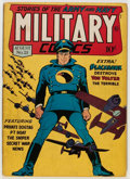 Golden Age (1938-1955):War, Military Comics #21 (Quality, 1943) Condition: FN-....