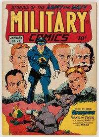 Military Comics #25 (Quality, 1944) Condition: VF
