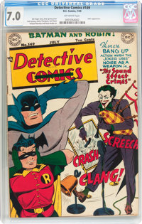 Detective Comics #149 (DC, 1949) CGC FN/VF 7.0 Off-white pages