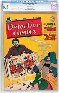 Detective Comics #118 (DC, 1946) CGC FN+ 6.5 Off-white pages