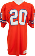 Football Collectibles:Uniforms, 1982-83 Louis Wright Game Worn Denver Broncos Jersey, MEARS A10....