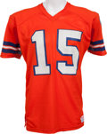 Football Collectibles:Uniforms, 1978-79 Jim Turner Game Worn Denver Broncos Jersey. ...