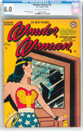 Golden Age (1938-1955):Superhero, Wonder Woman #41 (DC, 1950) CGC VF 8.0 Cream to off-white pages....